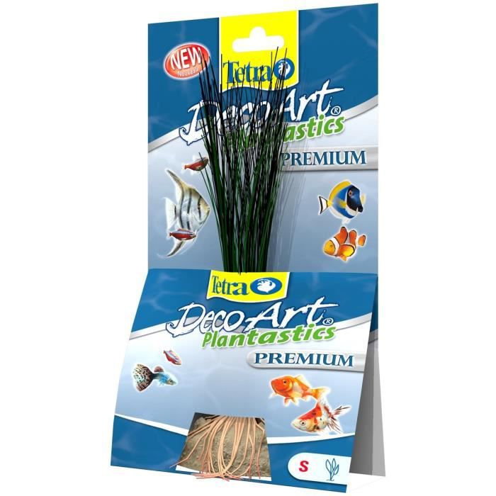 TETRA DecoArt Plante Premium Hairgrass S 15cm pour aquarium