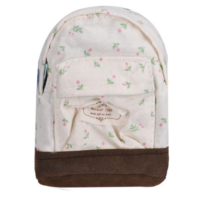 Benjanies®unisexe Frais D'école zjc10112490 Floral Dos Vent En Toile Mode Sac À wqrR7Uw