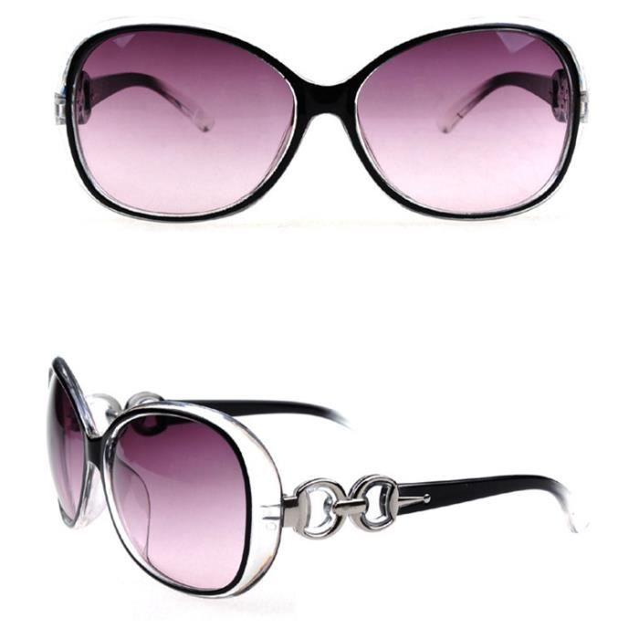 Lunettes SunGlasses de soleil Femmes 9509 NOIR BXYBxrqSP