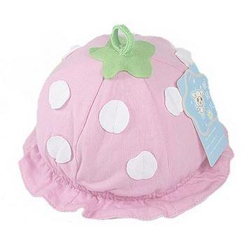 ca5e0fec7fd Bonnet bébé modèle fraise en coton - Achat   Vente bonnet - cagoule ...