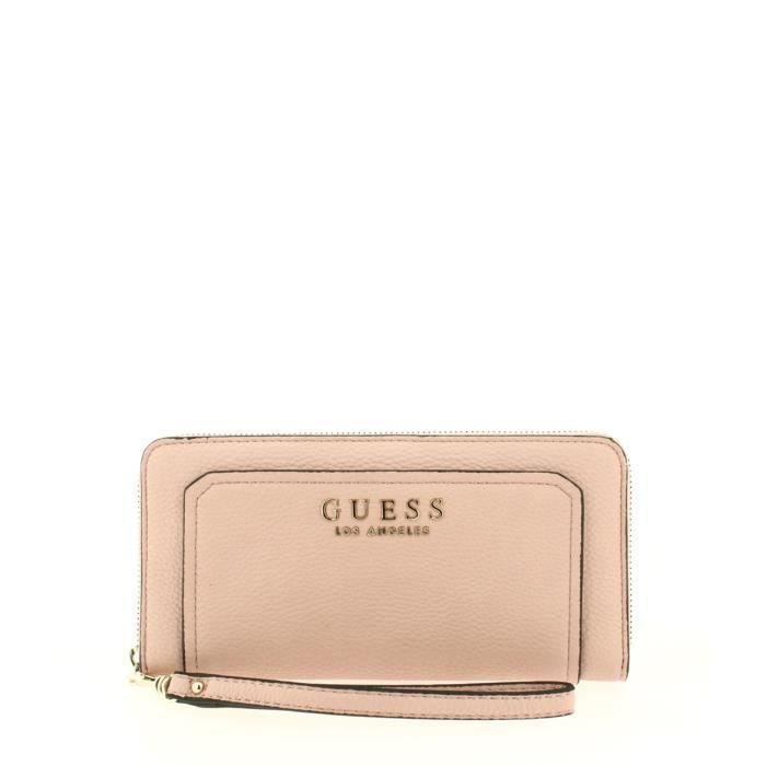 Compagnon GUESS Sally Blush - Achat   Vente portefeuille ... 1693bccded9
