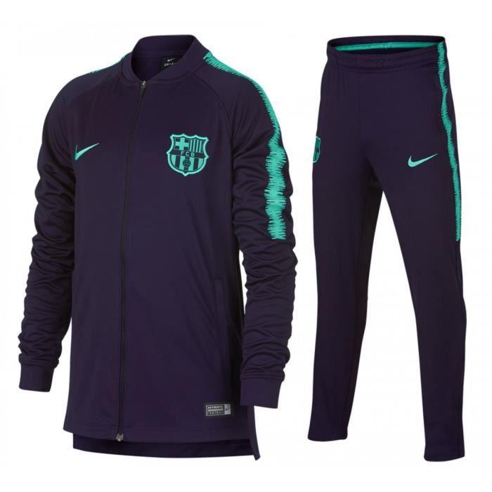 Ensemble de survêtement Nike FC Barcelona Dri-Fit Squad Junior - 894401-525 29d58f0bfd25