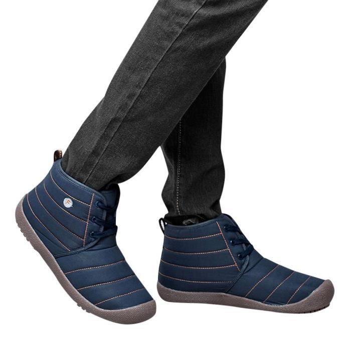 BOTTE oppapps175 Chaussures en coton imperméable plus ve