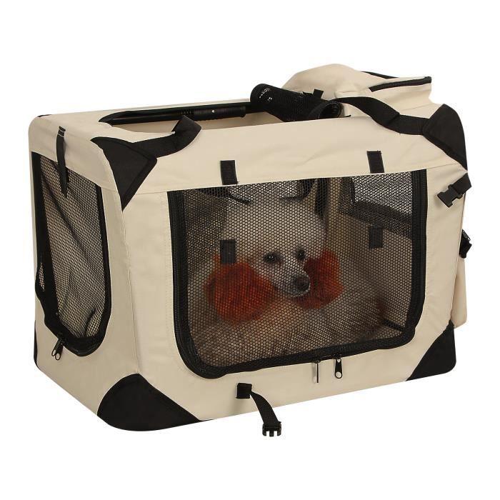 songmics® cage, caisse de transport sac de transport pliable pour