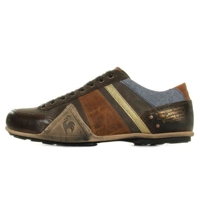 Baskets Le Coq Sportif Turin Leather Chambray
