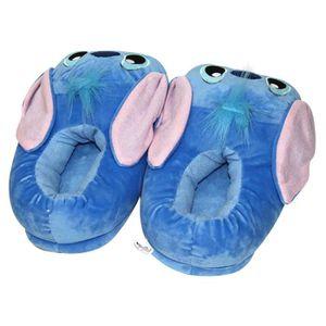 Pantoufles Femme Homme Monstre Bleu En Peluche Hiver Populaire BBDG-XZ159bleu41 HoBuBE3u