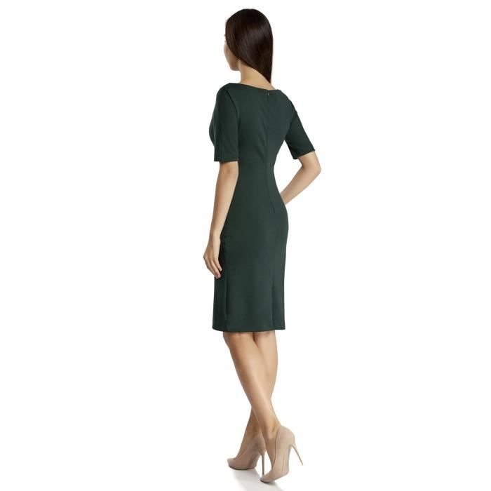 Womens Boat Neck Dress 2NGQSI Taille-34