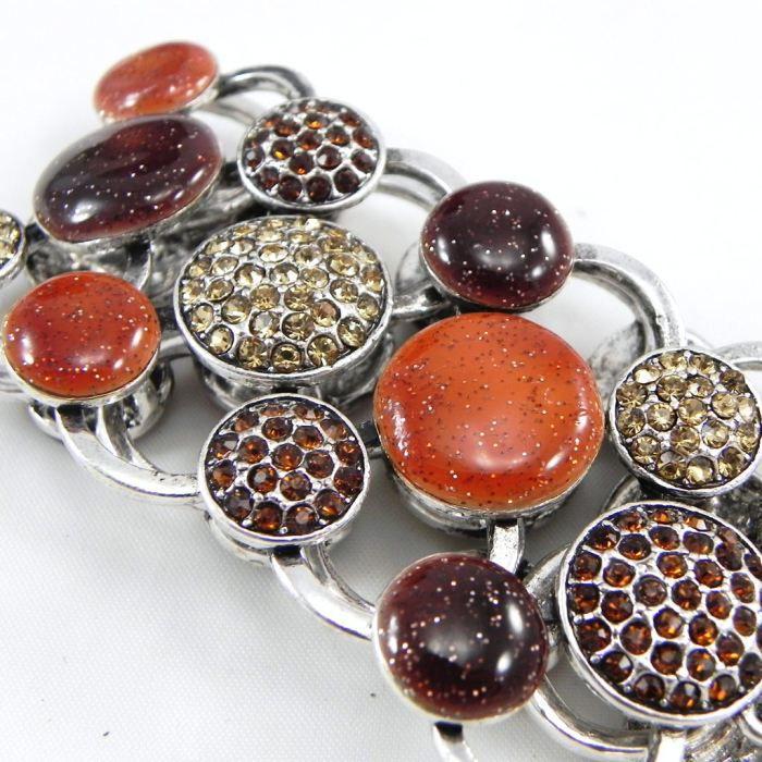 Bracelet Créateur Sissi marron
