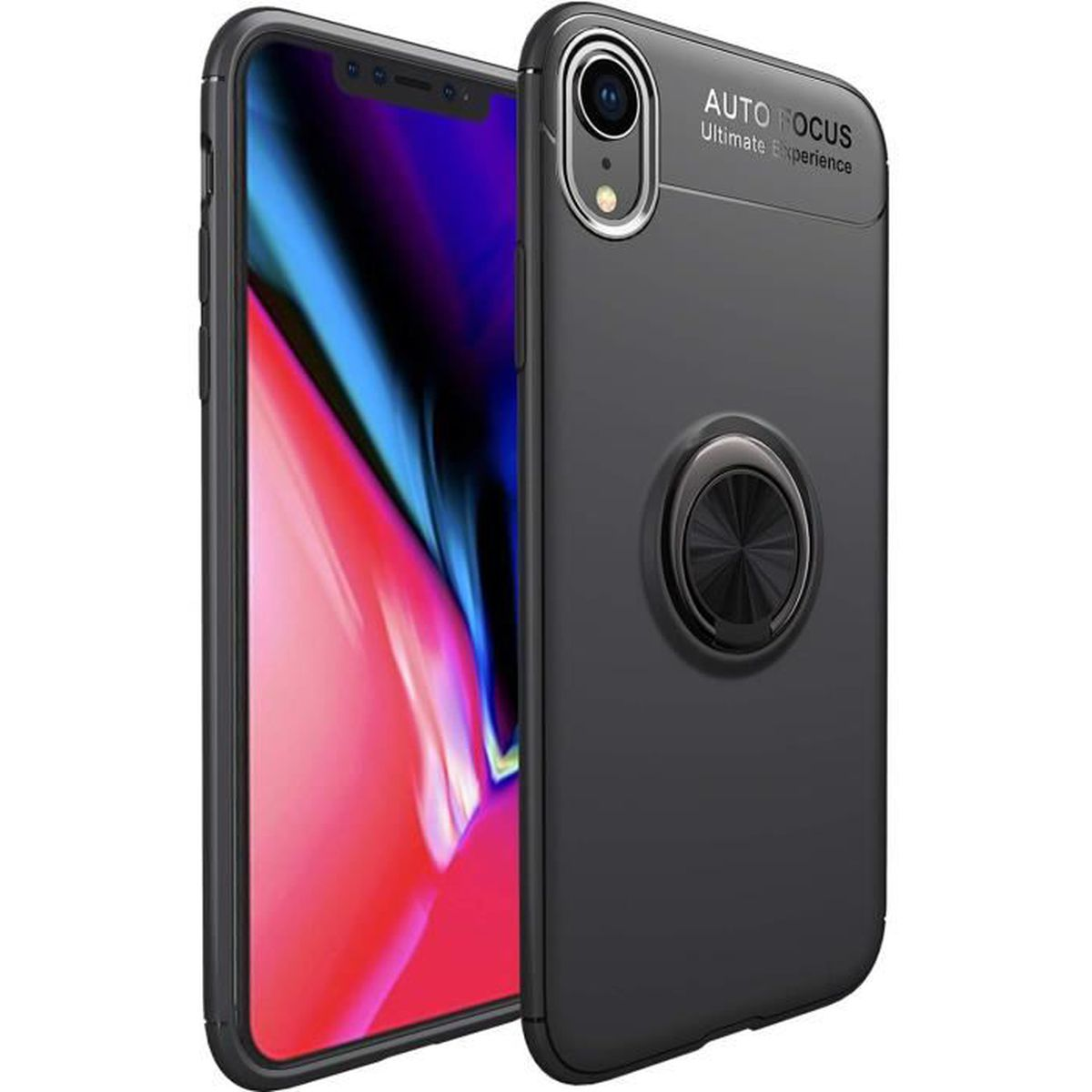 iphone xr coque double