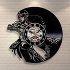 Princesse Zelda Horloge Murale De Vinyle Disque Dessin Anime