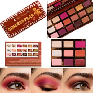 SOIN DES CILS 2018 NEW TOO FACED GINGERBREAD SPICE EYESHADOW PAL