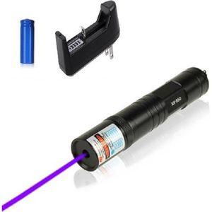 POINTEUR Rare Ultra Puissant Pointeur laser violet 1mw 532n