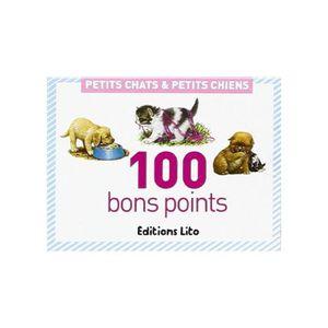 BON POINT - IMAGE Lot de 100 Bons points Chiens et Chats