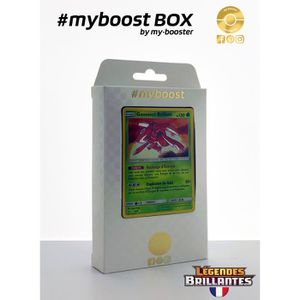 CARTE A COLLECTIONNER Coffret #myboost GENESECT Brillant 9/73 - Soleil e