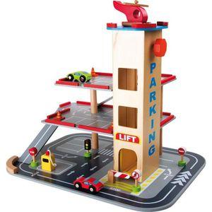garage bois voiture achat vente jeux et jouets pas chers. Black Bedroom Furniture Sets. Home Design Ideas