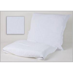 OREILLER Taie d'oreiller Viti 65 x 65 cm blanc