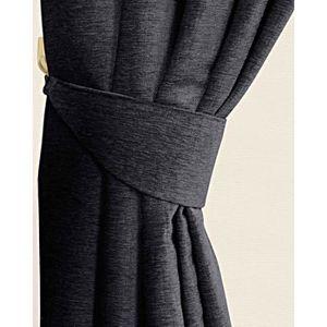rideau gris anthracite achat vente rideau gris. Black Bedroom Furniture Sets. Home Design Ideas