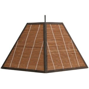 LUSTRE ET SUSPENSION Suspension pyramide Bamboo chocolat Metropolight