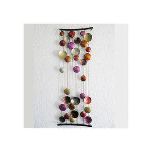 LAMPADAIRE Tableau abstrait Concave Inspire à Pastilles Rose