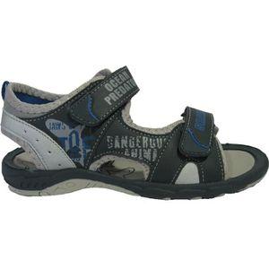 SANDALE - NU-PIEDS Sandales bleues à scratchs pour garçons