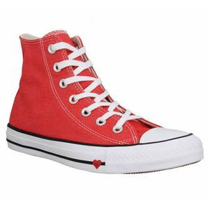 BASKET Baskets CONVERSE Chuck Taylor All Star Hi toile Fe