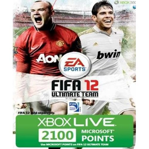 CARTE MULTIMEDIA XBOX 360 LIVE 2100 POINTS FIFA