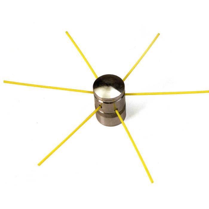 tête de débroussailleuse universelle pro alu - achat / vente tête