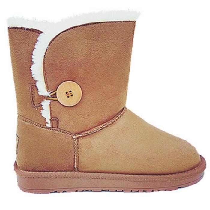 BOTTINE Femme Fille Botte Boots Bottine Chaussure fourrées