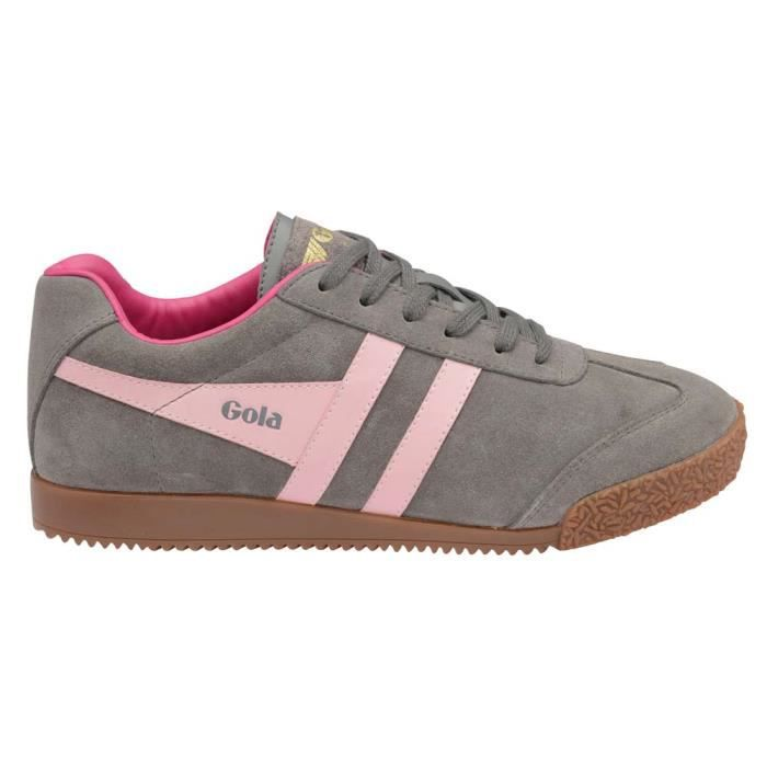 Chaussures femme Baskets Gola Harrier New Suede Mg6uv