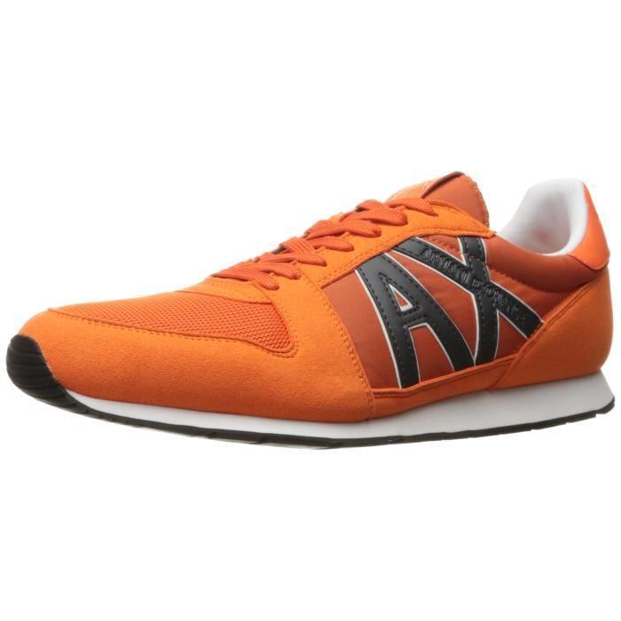 A|x Armani Exchange Courir Retro Sneaker Sneaker Fashion O1O9X Taille-46
