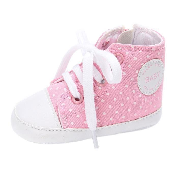 chaussures BOTTE né Chaussures nouveau RoseHM crèche souple garçon à bébé fille semelle ww0qXr