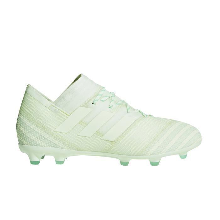 separation shoes 1b033 84cdf Chaussures football Chaussure de Football adidas Nemeziz 17.1 FG Vert Junior