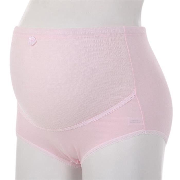 Grossesse vêtement Coton Taille Jiyaru Haute De Maternité Rc0117 Réglable Culotte Sous dCoBrxe