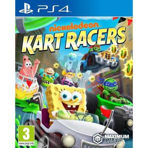 JEU PS4 Nick Kart Racing Jeu PS4