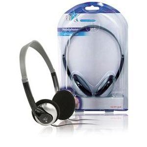 HQ HQ-HP113LW6 Ecouteurs audio 3.5 mm 6 m - Argent