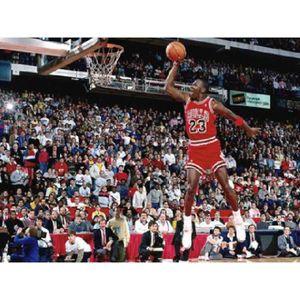 AFFICHE - POSTER Photo dunk Michael Jordan (Dimensions : 10 x 15 cm