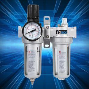 STATION DE FILTRATION Séparateur d'eau avec Filtre Régulateur de pressio