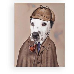 Déguisement Homme Chien DALMATIEN XL costume animal Humour NEUF Pas cher