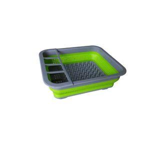 VAISSELLE CAMPING Egouttoir vaisselle pliant silicone