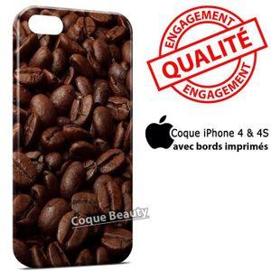 COQUE - BUMPER Coque iPhone 4 & 4S Cacao