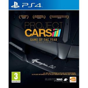JEU PS4 PROJECT CARS GAME OF THE YEAR EDITION PS4 UK