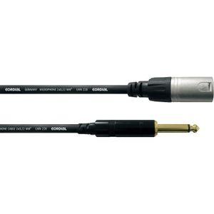 PACK ACCESSOIRES CORDIAL CCM5MP Cable audio XLR mâle/Jack mâle mono