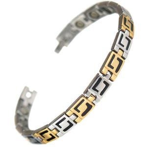 BRACELET - GOURMETTE Bracelet acier 15 Aimant magnetique 3000g inca may