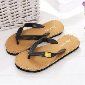 Femmes Tongs Nouvelle Mode Marque Pantoufle Confortable Platform Thong Sandals Cool Sandale Luxe Femme Plus Taille 35-39,jaune,44