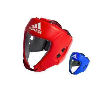 CASQUE DE BOXE - COMBAT -Casque de boxe Anglaise AIBA- S-Rouge--- S-Rouge-