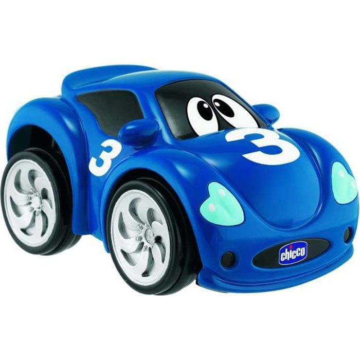 CHICCO Voiture Turbo Touch Bleue