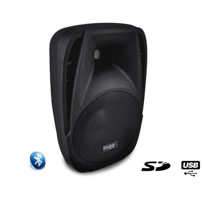 IBIZA SOUND BT8A Enceinte active portable - 150W