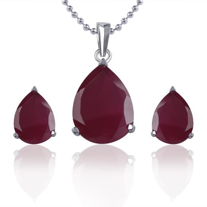 Womens Vk Jewels Delight Drop Pendant With Earrings Ps1041r OZXCX