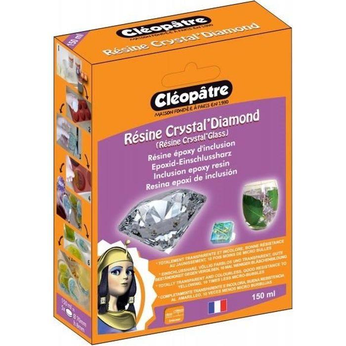 resine cristal pas cher