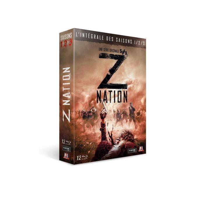 BLU-RAY SÉRIE Z Nation - L'integrale des saisons 1-3 - En Blu-ra